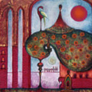 On The Rooftop Of The World Art Print
