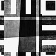 On The Tarmac Designer Series 3a14bwflip Art Print