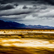 On The Way To Death Valley Art Print