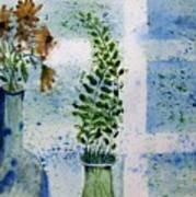 On The Windowledge Art Print