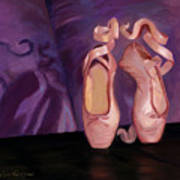 On Pointe - Mirror Image By Marilyn Nolan-johnson Art Print