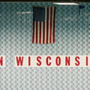 On Wisconsin  Art Print