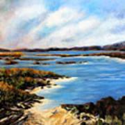 One Beach Washington Art Print