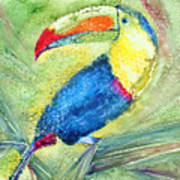 One Can't But Toucan Art Print