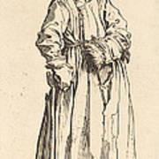 One-eyed Woman Art Print
