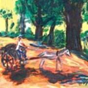 One Horsepower Art Print