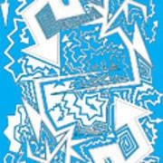 One Liner X Jtl Art Print