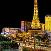 One Night In Vegas Art Print