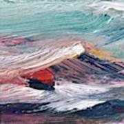 Wave Mountain Art Print