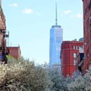 One World Trade Center In Spring Art Print