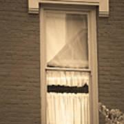 Jonesborough Tennessee - One Window Art Print