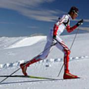 Online Winter Sports Equipment Art Print