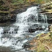 Onondaga 6 - Ricketts Glen Art Print