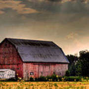 Ontario Barn In The Sun Art Print