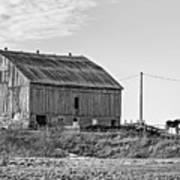 Ontario Farm 5 Bw Art Print