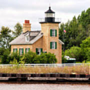Ontonagon Lighthouse Art Print