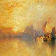 Opalescent Venice Art Print