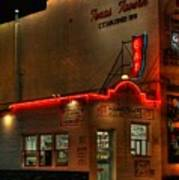 Open All Nite-texas Tavern Art Print