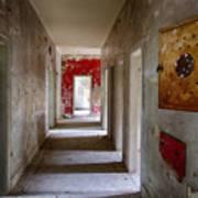Open Doors - Abandoned Building Art Print