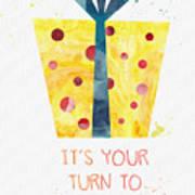 Open Gifts- Card Art Print