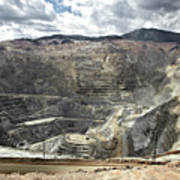 Open Pit Mine, Utah, United States Art Print