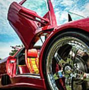 Open Sesame Red - Lamborghini Diablo  Art Print