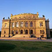 Opera House, Prague Art Print
