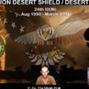 Operation Desert Shield/storm Art Print