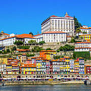 Oporto Riverfront Art Print