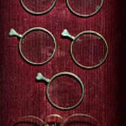 Optician - Optometrist Lens Art Print