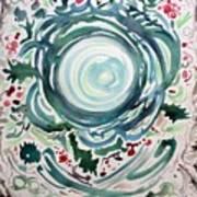 Oracular Yule Wreath Art Print