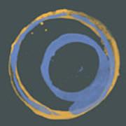 Orange And Blue 3 Art Print