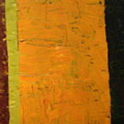 Orange And Brown Art Print