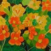 Orange And Yellow Days Art Print