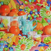 Orange Appeal Art Print