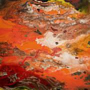 Orange-brown Series No. 3 Art Print