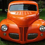 Orange Classic  Art Print