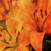 Orange Cluster 9225 Idp_2 Art Print