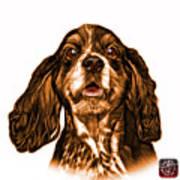 Orange Cocker Spaniel Pop Art - 8249 - Wb Art Print