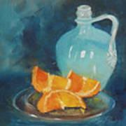 Orange Complement Art Print