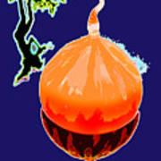 Orange Globe Art Print