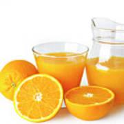 Orange Juice Art Print