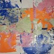 Orange Marmalade And Blueberry Jam Art Print