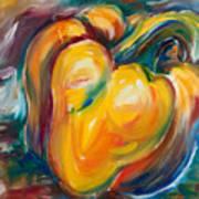 Orange Pepper Art Print