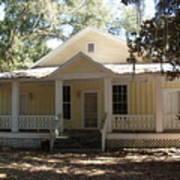 Orange Springs Historic Home Art Print