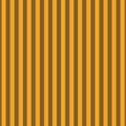Orange Striped Pattern Design Art Print