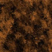 Orange Textures 001 Art Print
