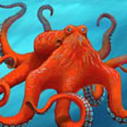Orange-u-gr-8 Art Print