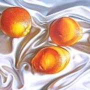 Oranges 2 Art Print