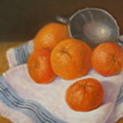 Oranges And Tangerines Art Print
